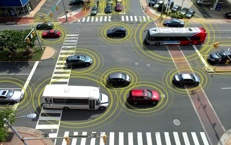 What will cars of the future communicate about? Sensory Perception
