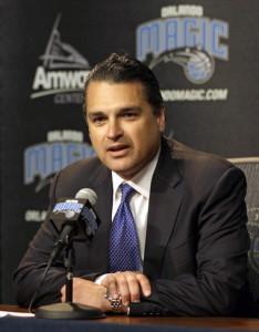 Orlando Magic CEO Alex Martins